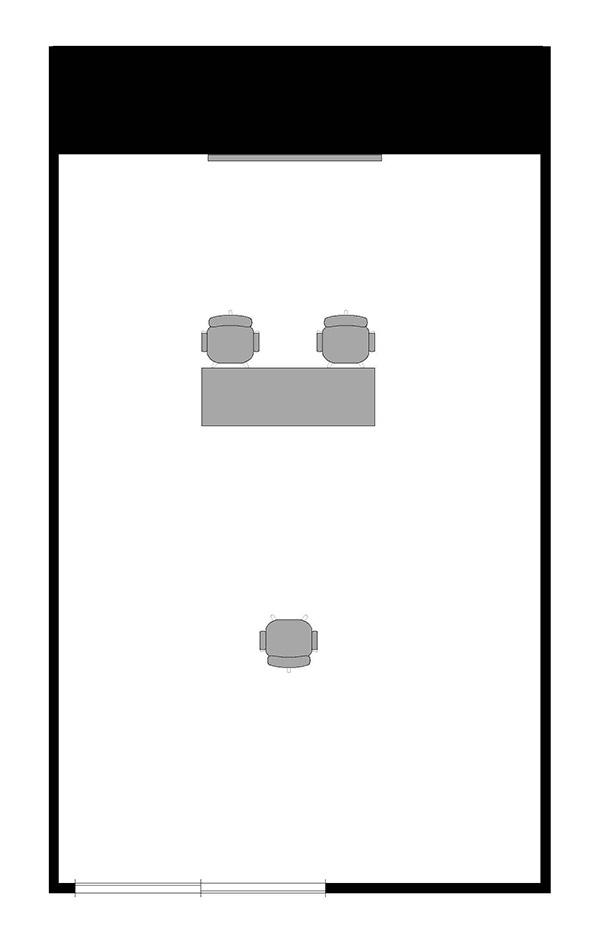 面接形式(2対1)