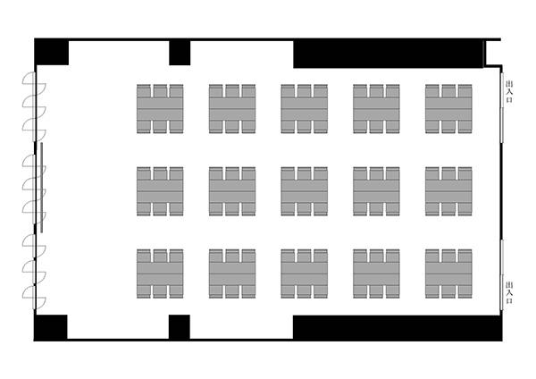 島形式(6名15島)